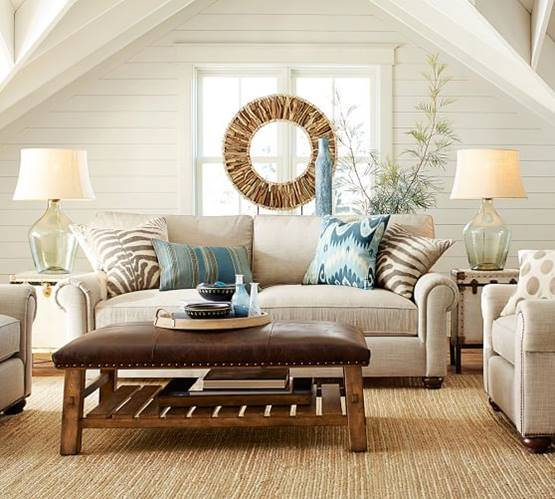 Pottery Barn Living Room For Less