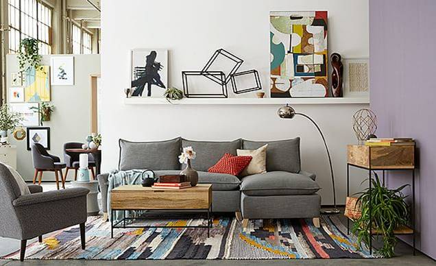 West Elm Living Room for Less