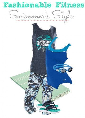 5.21 Fashionable Fitness Board SWIMMER STYLE