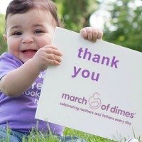 Help babies become what they're born to be with March of Dimes