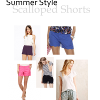 Summer Style: Scalloped Shorts