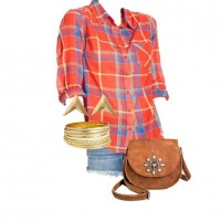 Summer Style: Casually Plaid at Target