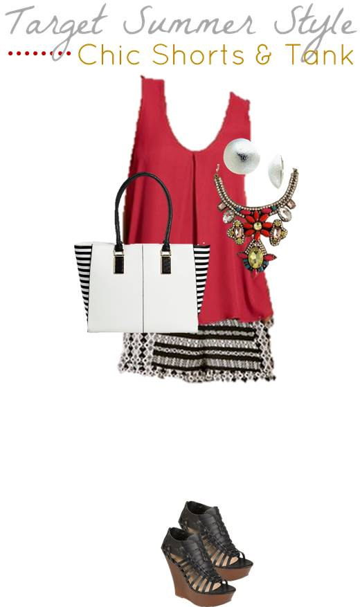 5.21 4 Target Summer Style - Shorts and Tank