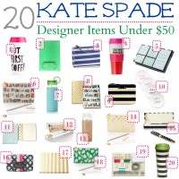 Grad Gift Ideas: Kate Spade Items Under $50