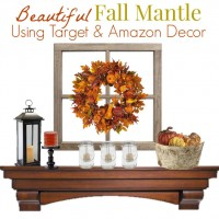 Get the Look: Fall Mantle Wreath