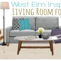 Chic Home: West Elm Living Room For Less