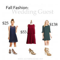 Fall Fashion: Wedding Guest