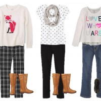 Mix & Match Fashion Board: Girls' Fall Fashion at The Children's Place