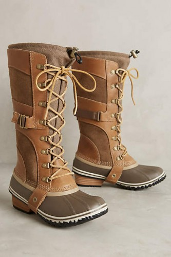 Sorel Conquest Carly Boots British Tan - maybe winter won't be so bad with these beauties!