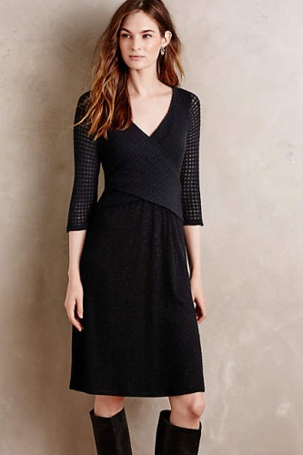 Fara Surplice Dress - perfect for fall! #AnthroFave