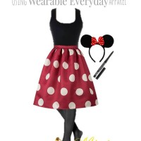 Wearable Everyday Halloween Costume:  Minnie Mouse