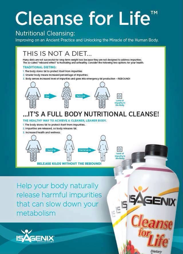 Nutritional Cleansing with Isagenix is a healthy way to achieve a ...