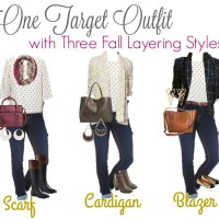 Fall Layering Three Ways at Target