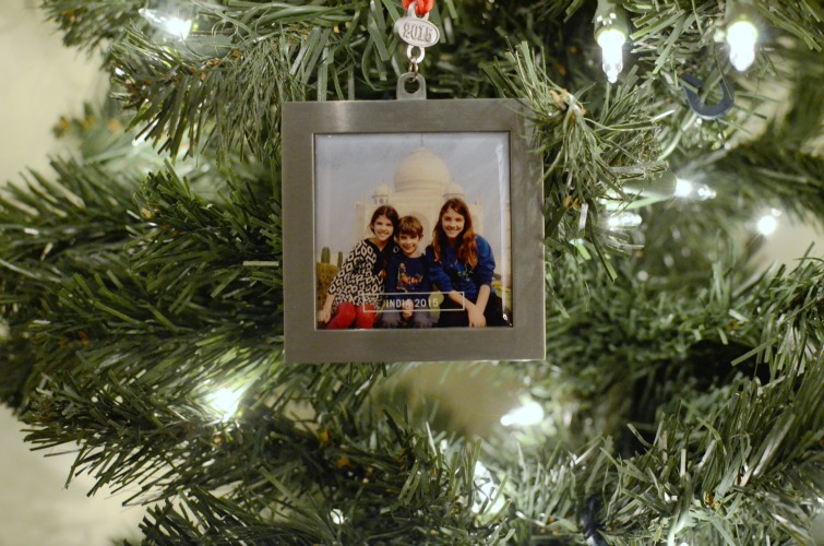 Tiny Prints Photo Ornaments for the Holidays
