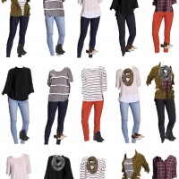 Winter Wardrobe from Old Navy