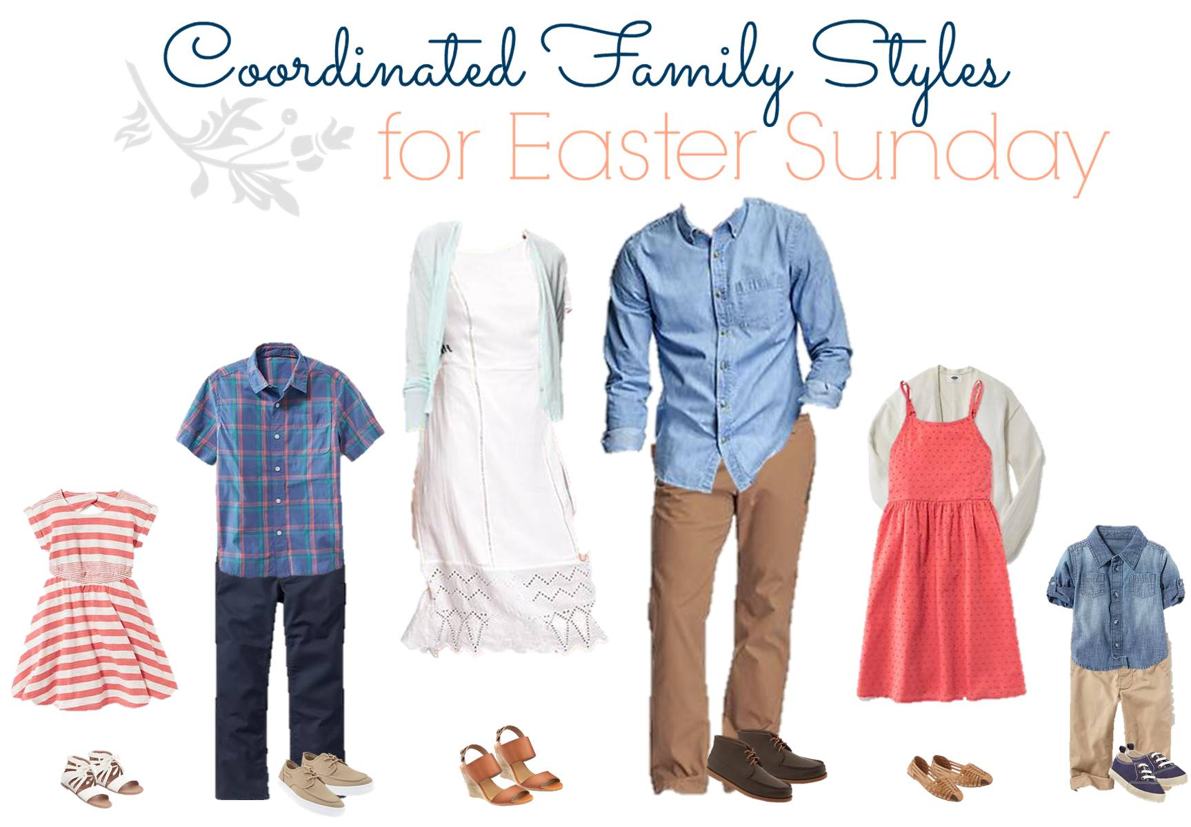 Easter Sunday Outfits for the Family - Old Navy