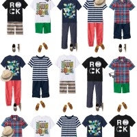 Mix & Match Boys Summer Outfits from The Children's Place