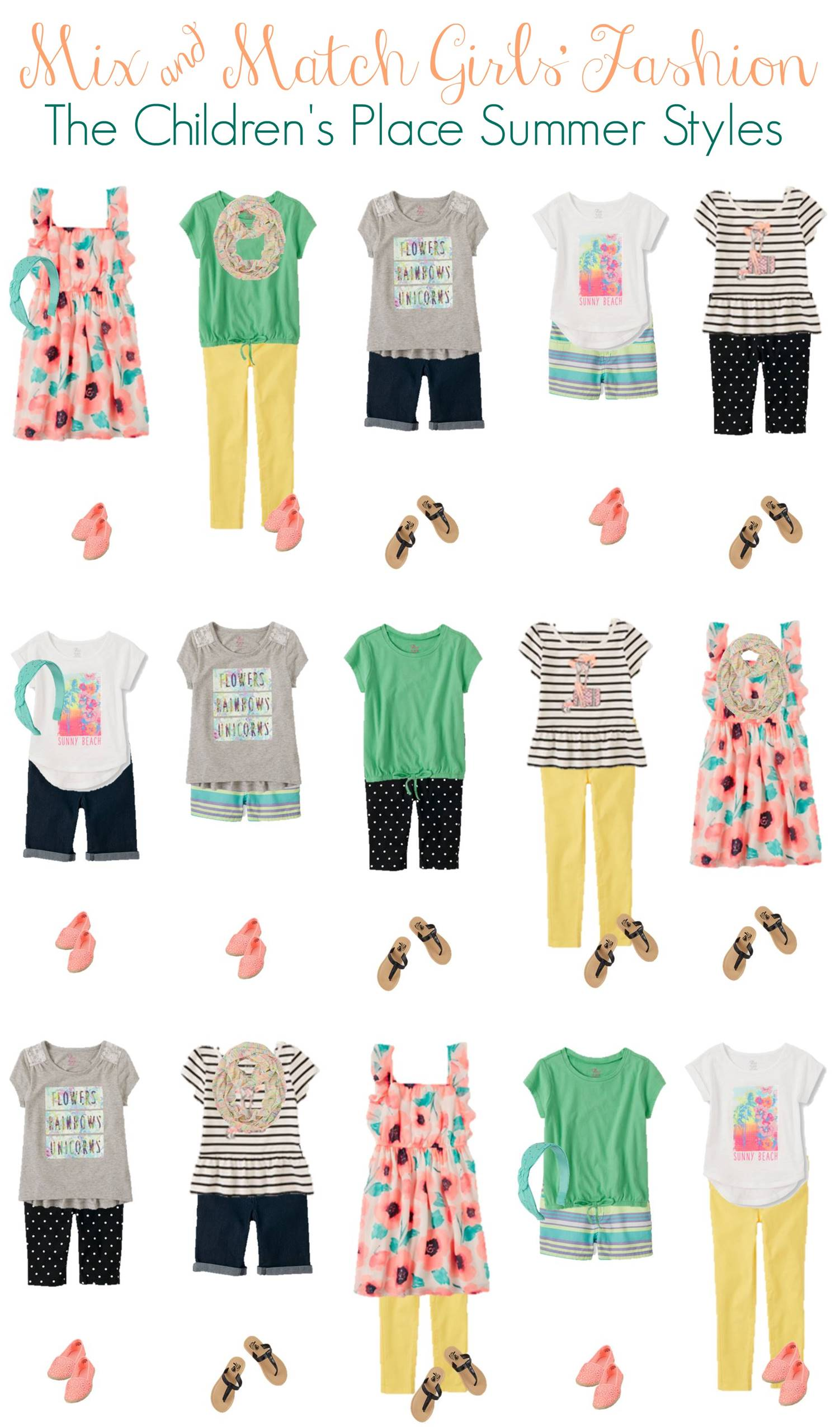 Mix and Match - Girls Summer Styles from TCP