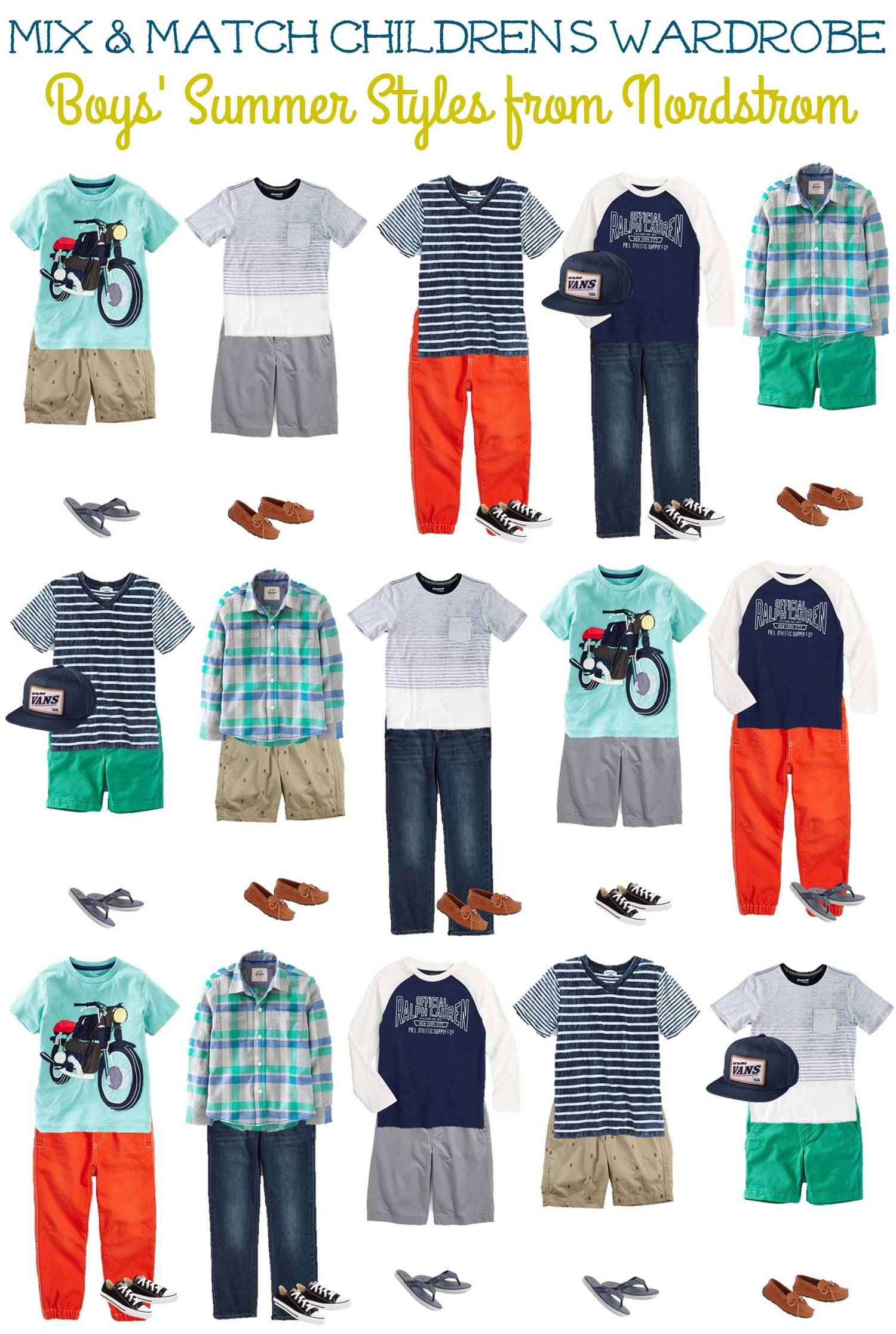 3.23 Mix and Match Fashion - Boys Summer Styles from Nordstrom VERTICAL