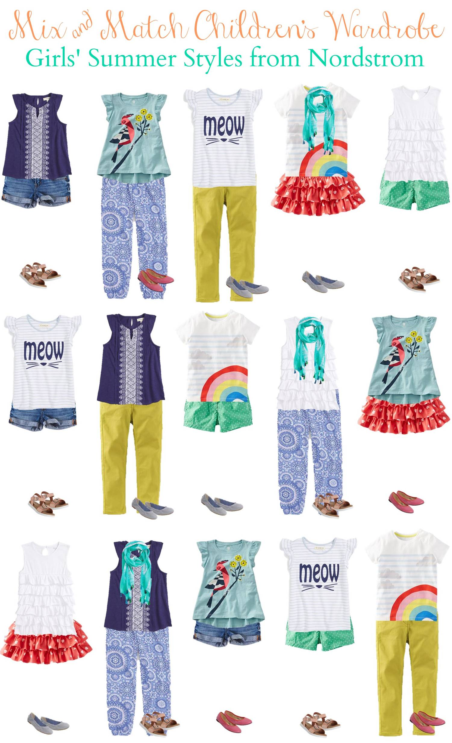 3.23 Mix and Match Fashion - Girls Summer Styles from Nordstrom VERTICAL
