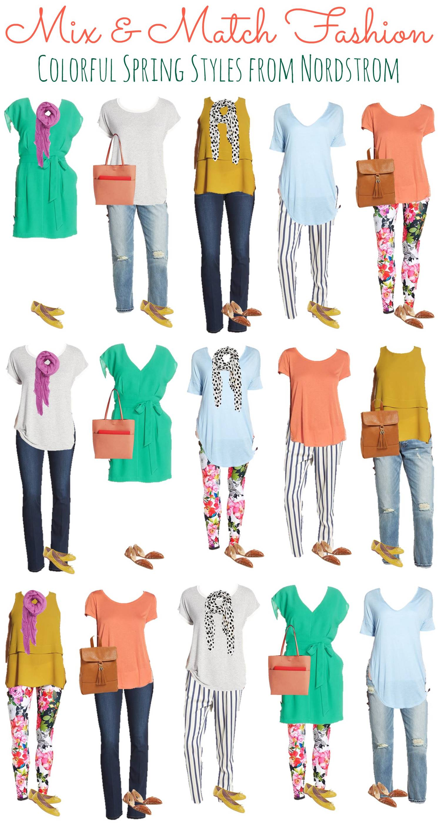 3.9 Mix and Match Fashion - Spring Nordstrom Styles VERTICAL