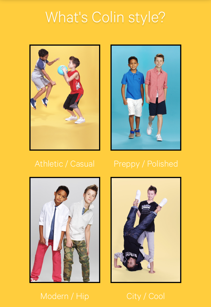 Pick your kids style with Kidbox