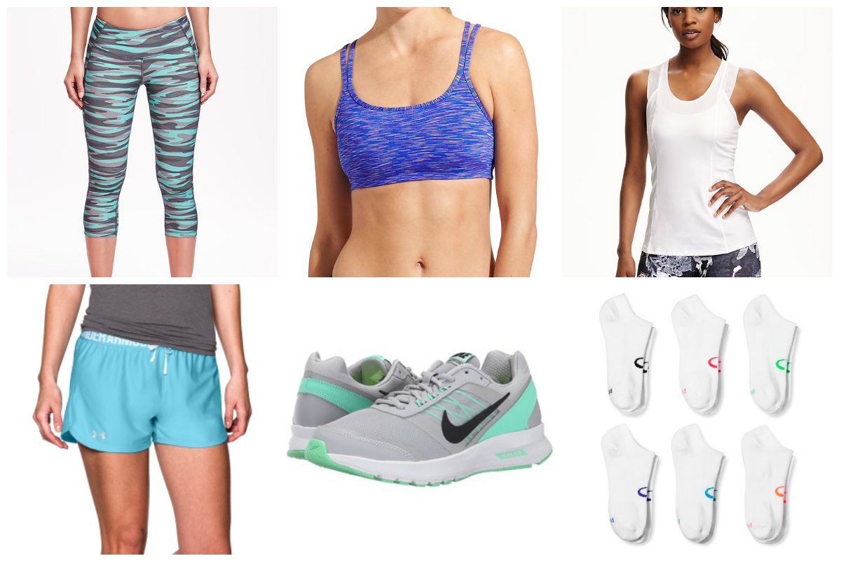 2016June Workout Clothes