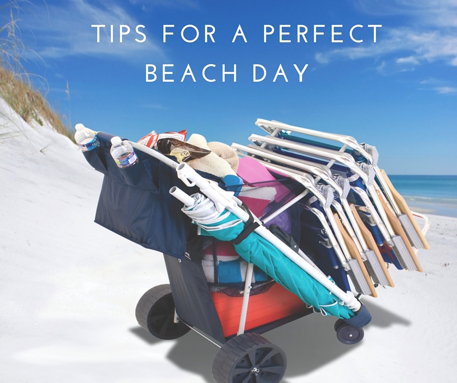 PERFECT BEACH DAY TIPS