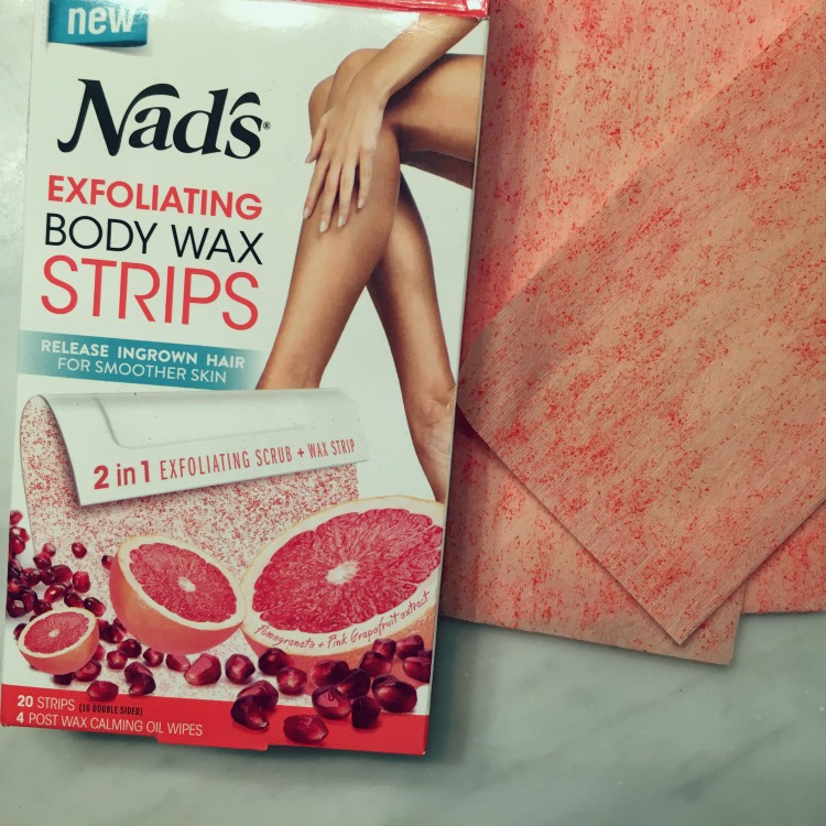 exfoliating wax strips for summer